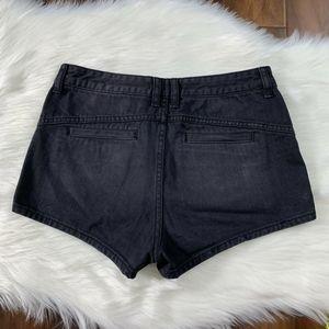 Free People Shorts - Free People Black Sweet Surrender Jean Shorts